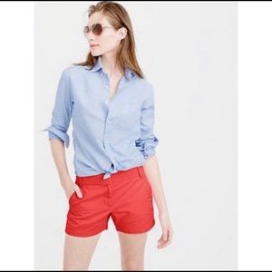 J Crew red chino cotton short 4